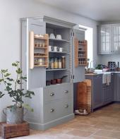 Homebarn Shaker style oak unit