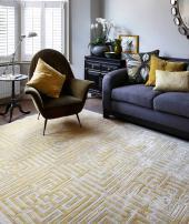 Jennifer Manners' Maze II in cherished gold