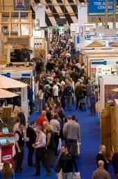 The show offers plenty of useful seminars and a planning clinic