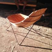 Chair by Deanta Design in conjunction with boat builder Mattie O'Malley
