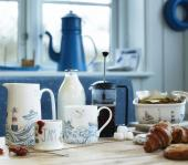 Ceramics with a Cornish seaside air from Julia Davey