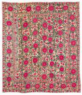 A Suzani textile on sale from Alex Zadah  224x193 cms
