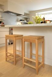 Wanted wooden stools, £1,896 inc VAT for set of four