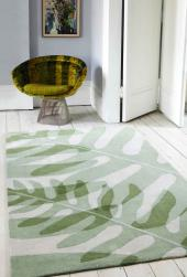 Urban Jungle rug from the Plantation Rug Company is made from fibres from plastic bottles