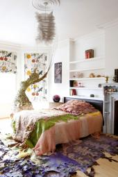 Ethereal and beautiful - The Woodland Boudoir from Silkfelt