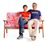 Jonathan Walter and wife Lakshmi Bhaskaran of Bark Furniture