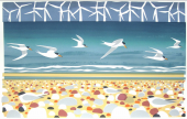 Big Terns and Little Terns by Carry Akroyd