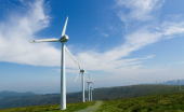 Wind energy is a source of renewable electricity