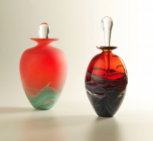 Blown glass by James Alexander