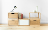 modular wood units by ByAlex, from £100