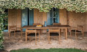 Tibbo teak collection by Barber Osgerby for Germany's Dedon