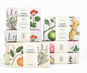 Savon Stories soaps and organic body care products are UK made