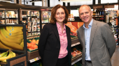 Tanya Steele, WWF UK CEO and Dave Lewis, Tesco CEO