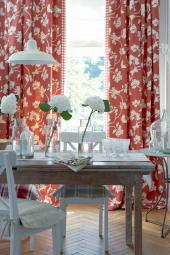 Organic cotton and linen curtains from Vanessa Arbuthnott