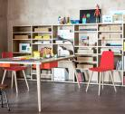 Nidi is an upmarket Italian kids' furniture brand that uses eco reclaimed wood panels