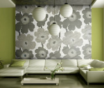Dahlia Grey mosaic by Spain's Onix