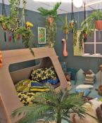 plants in children's room
