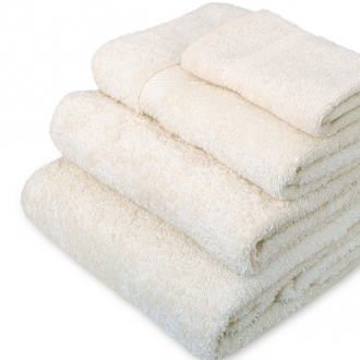 Organic cotton towels from Greenfibres in Totnes