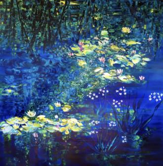 Joelle Kem Lika water lilies