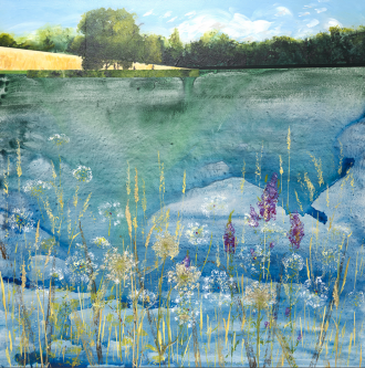 By Dee McLean, Hampstead Heath in summer