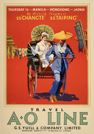 AntikBar vintage travel posters