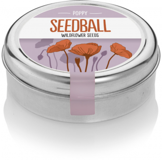 Seedball makes it easy to plant wild flowers