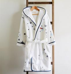 Organic cotton kids'  bathrobe, the perfect gifts for any child