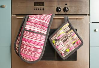 Toghal kitchen lines are beautifully made and feature vibrant African-inspired textiles