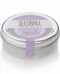 Seedball tins make it easy to grow bee friendly plants in your garden