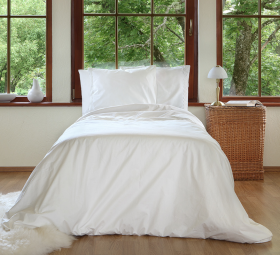Environmentally friendly organic cotton bedlinen from fou furnishings
