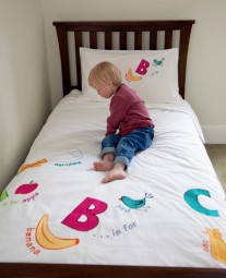 nursery and children's organic cotton bed linens from fou furnishings