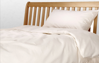 Greenfibres offers organic cotton bedding