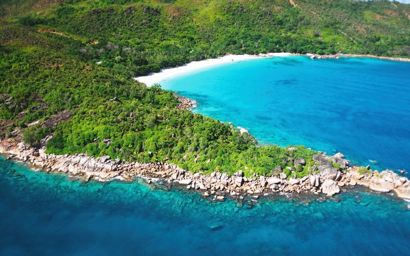 Lazio Anse Bay Seychelles