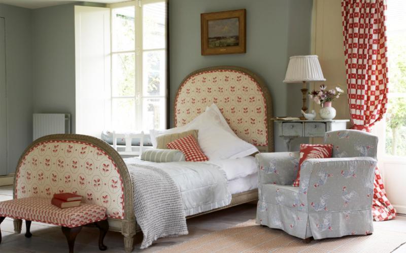 Vanessa Arbuthnott uses organic cotton and linen fabrics