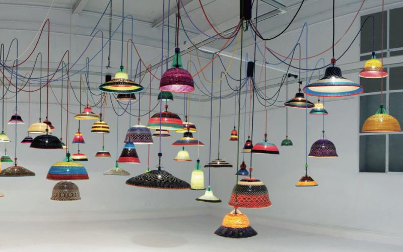 Pet Lamps are made in Spain, Colombia and now Chile by artisan communities