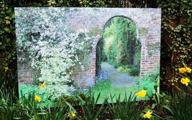 Inside Out Garden Art