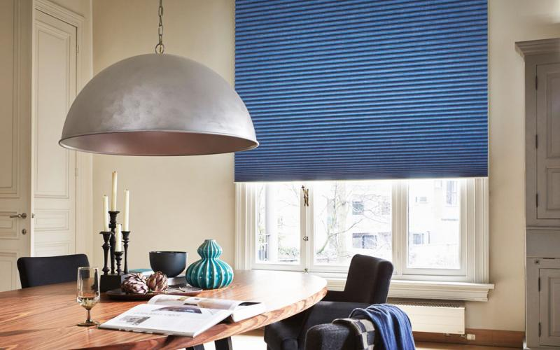 Duette blinds are energy saving