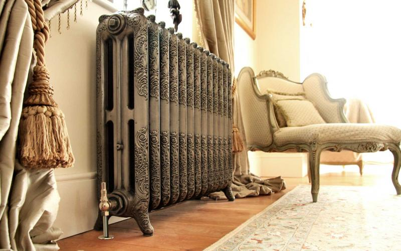 Antique radiators have an elegance. From the Old Radiator Company