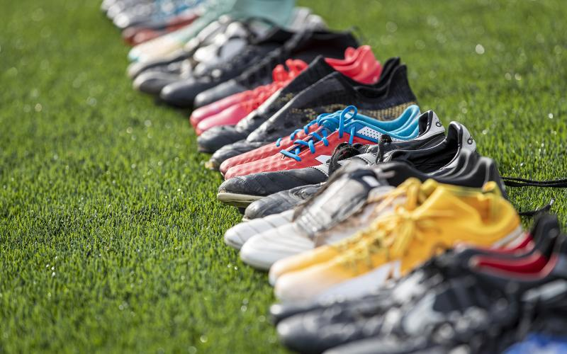 give old footy boots away to people who need them