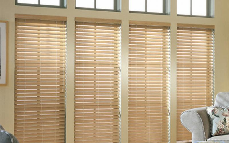 Wooden Venetian blinds are timeless