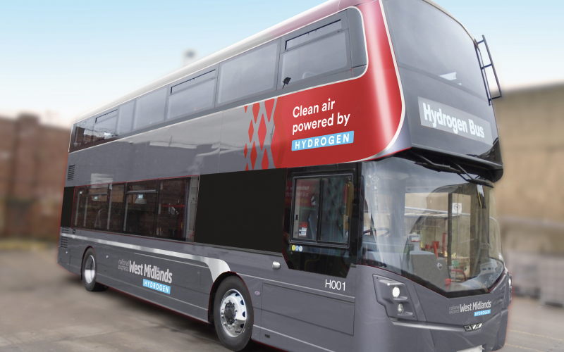 Hydrogen buses are coming to Birmingham