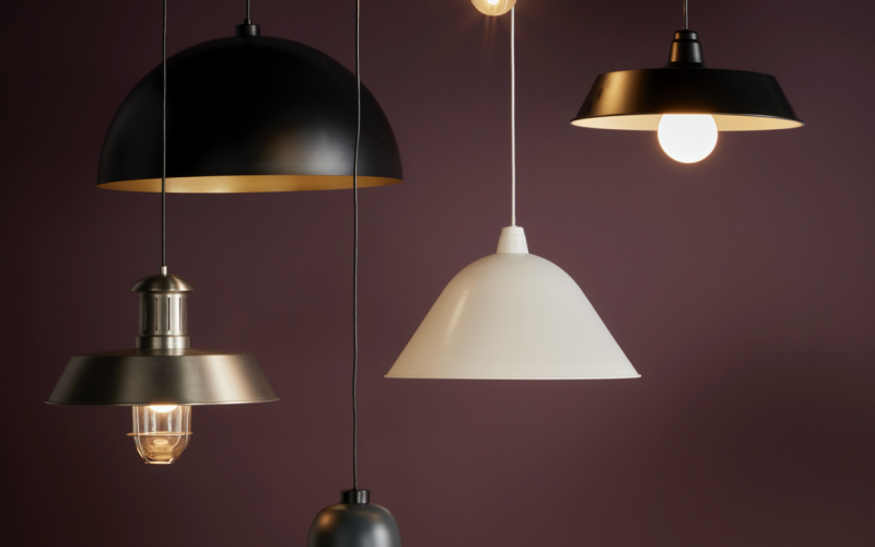 B&Q lighting collections