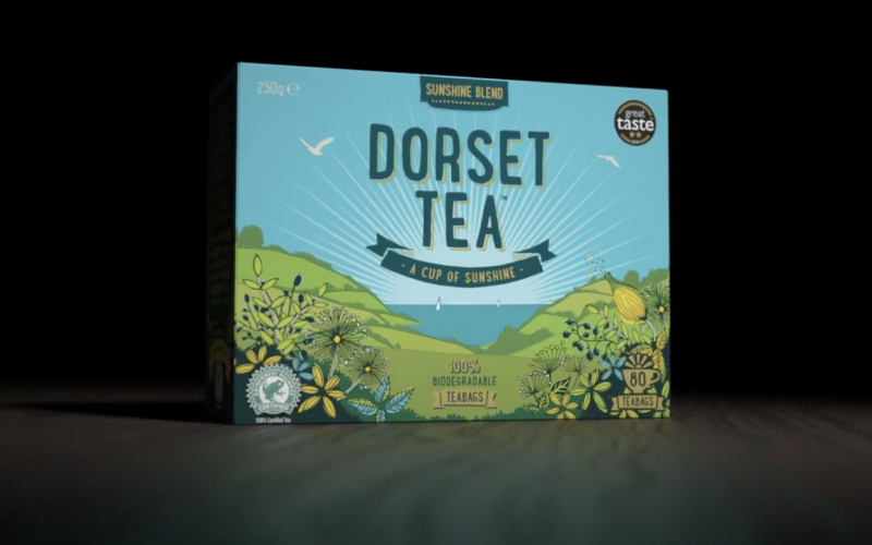 Dorset Tea biodegradable teabags