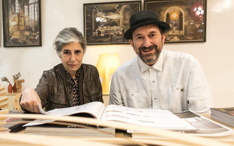 LZF lighting founders Marivi Colvi and Sandro Tothill