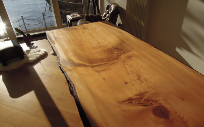 Let's hear it for French polish to restore wood furniture