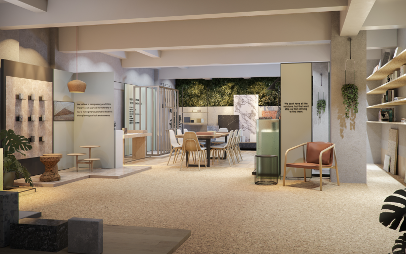 Edge London is a new showroom dedicated to sustainability in design and build