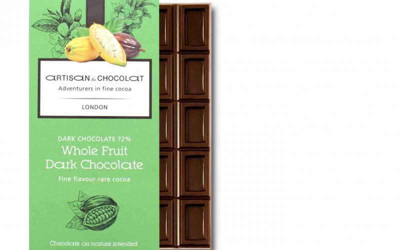 Artisan du Chocolat new bar uses the whole cacao fruit