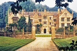 Parham House in Dorset, a beautiful Tudor mansion sadly badly damaged by fire this year