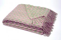 Picasso mohair throw by Mantas Ezcaray