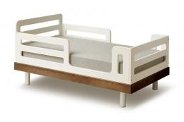 Oeuf Classic toddler bed (to age 6) is made from FSC-certified MDF. £195. www.naturalmat.co.uk